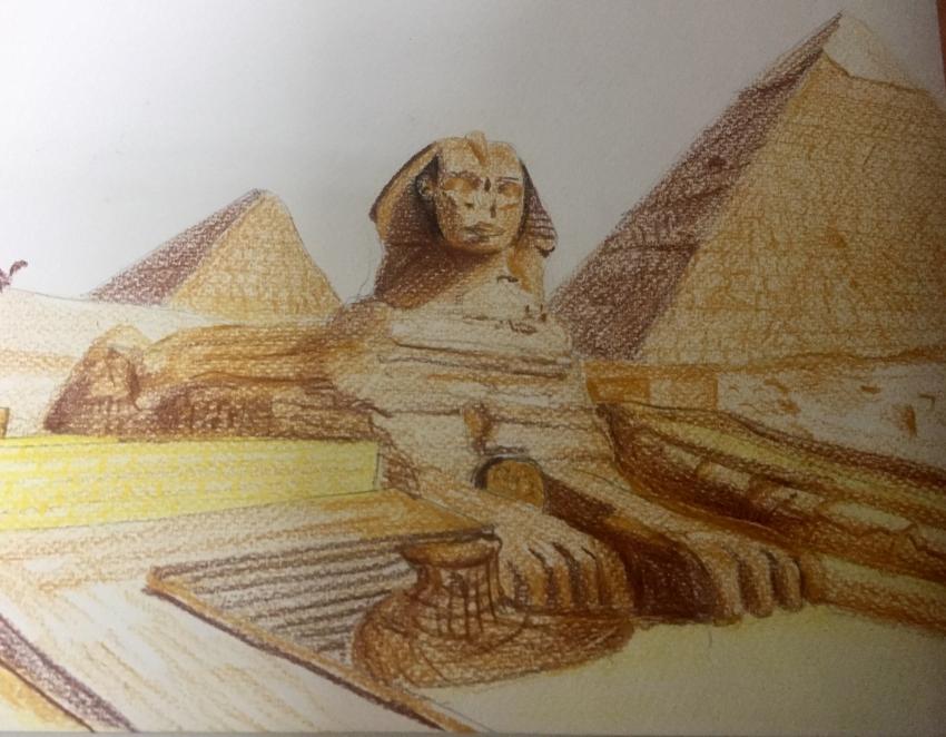 Sphinx por Amir.Salides